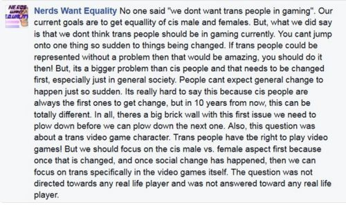 Nerds Want Equality for cis people.jpg