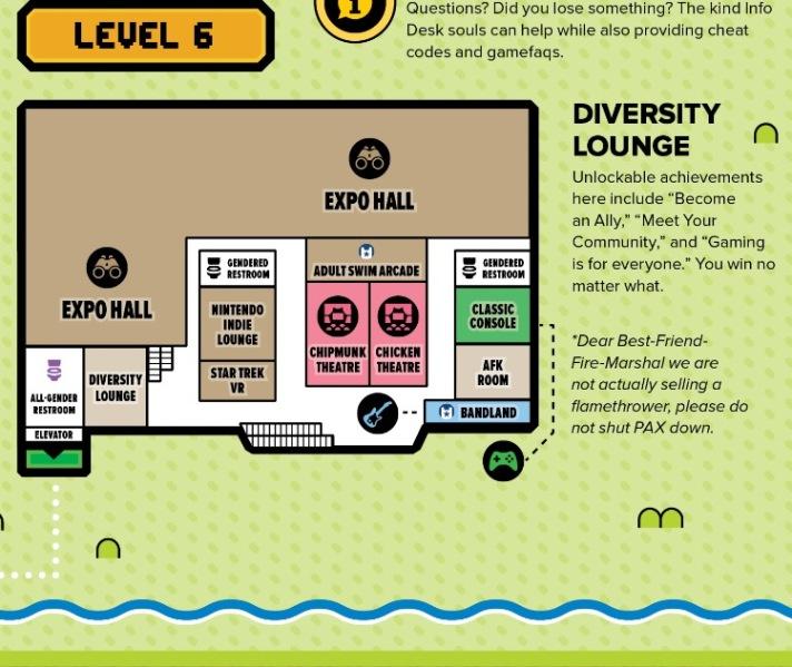Diversity Lounge PAX West
